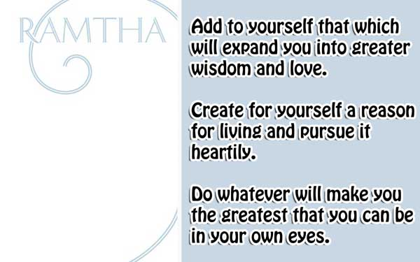 [Ramtha] The White Book 4 All those should-have's