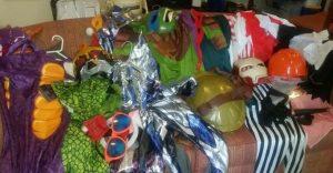 Big Bag of Mixed Boys Costumes (Ages 3-5ish & 6-8ish).